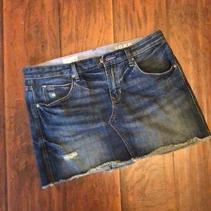 Gap Jean mini skirt
